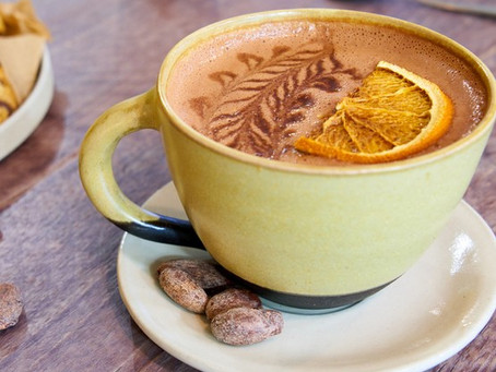 Chocolat chaud orange et cannelle