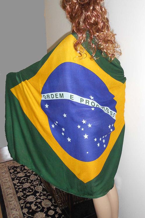 Sarong - Brazil Flag