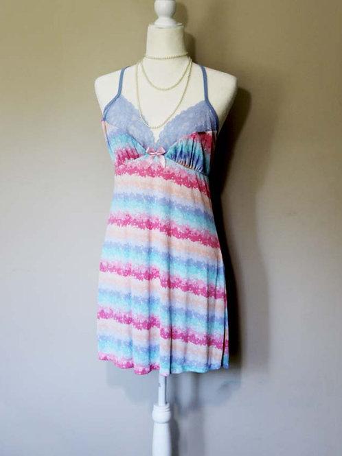 Colorful slip dress