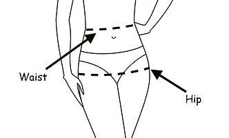 Waist and hip measurement