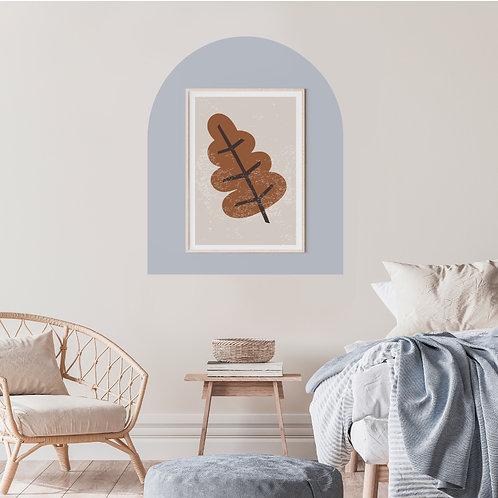 מדבקת קיר רקע למסגרת תמונה