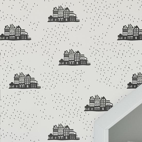 טפט בתים הולנדי