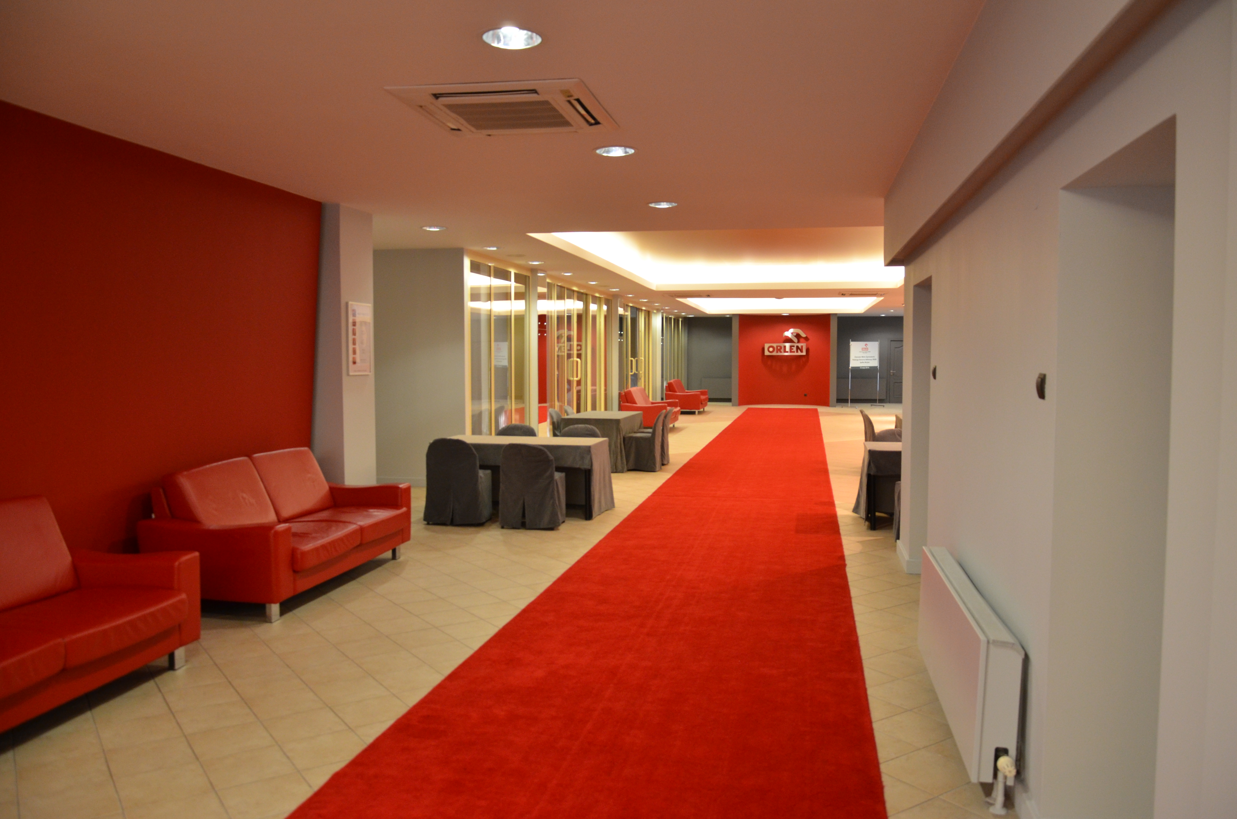 Centrum konferencyjne - hol