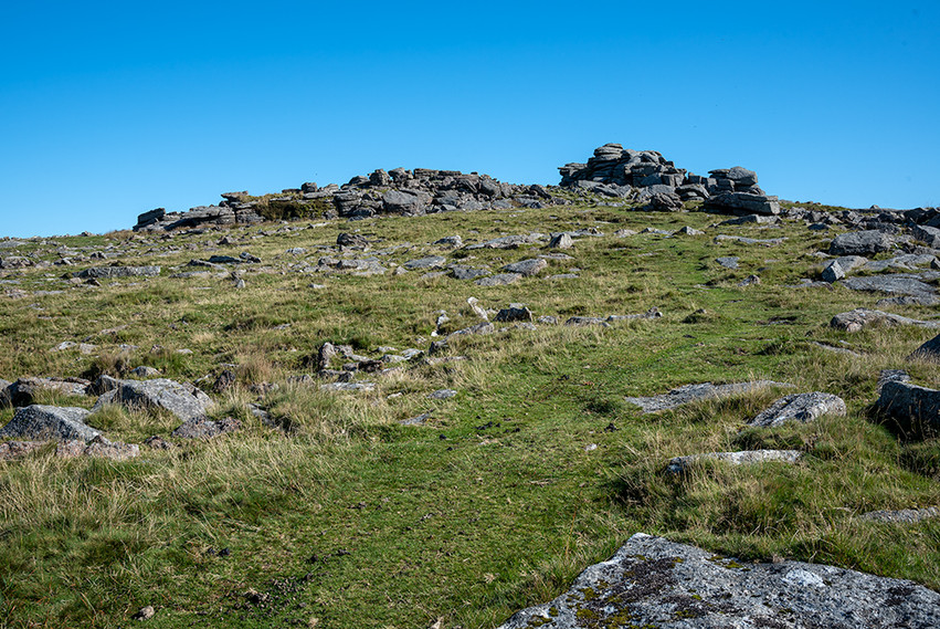 View of Middle Tor from Little Tor