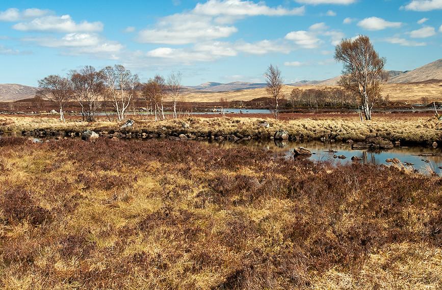 River leading to Loch Ba, Rannoch Moor 04