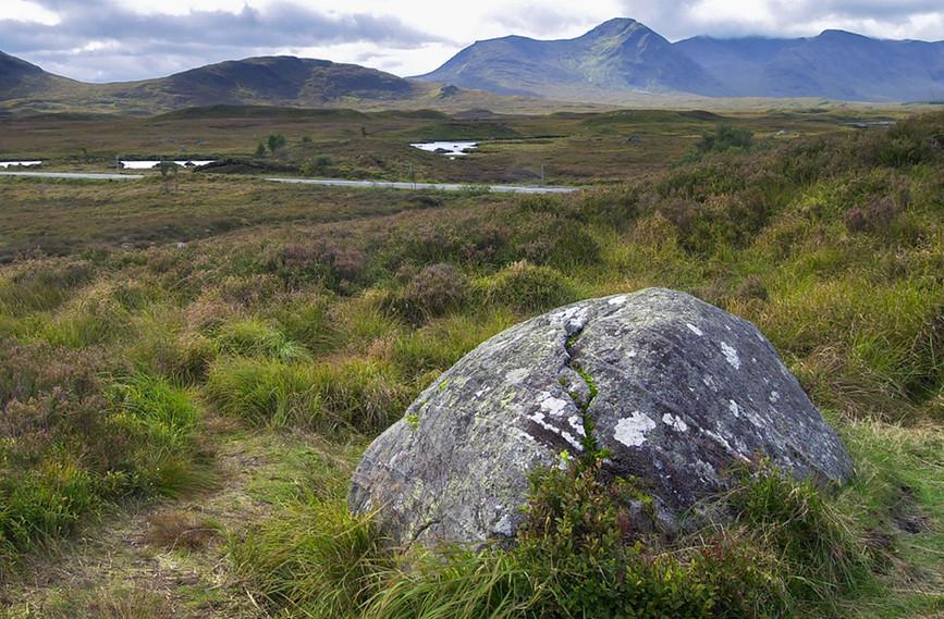 View across Rannoch Moor