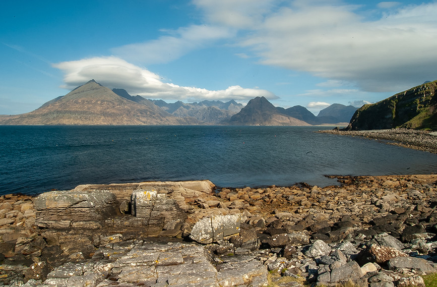 Across Loch Scavaig to the Black Cuillins 07