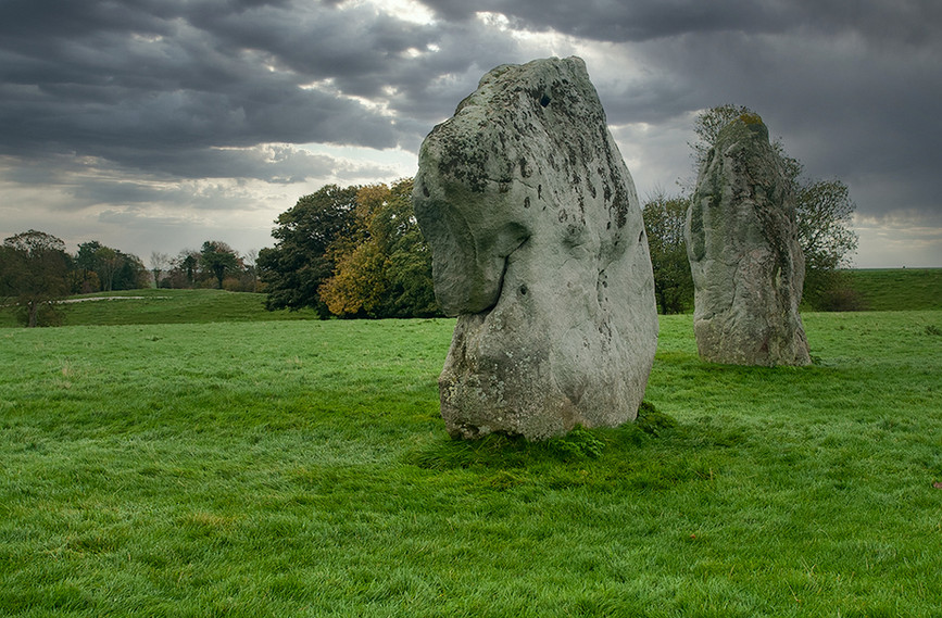 Views of Avebury & Individual Stones 12