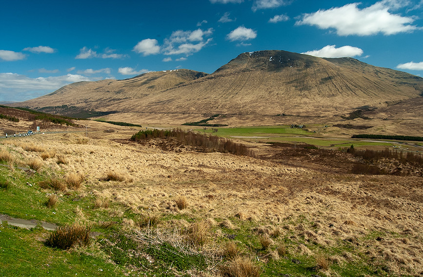 Beinn Achaladair & Bienn a Chreachain, nr Loch Tulla