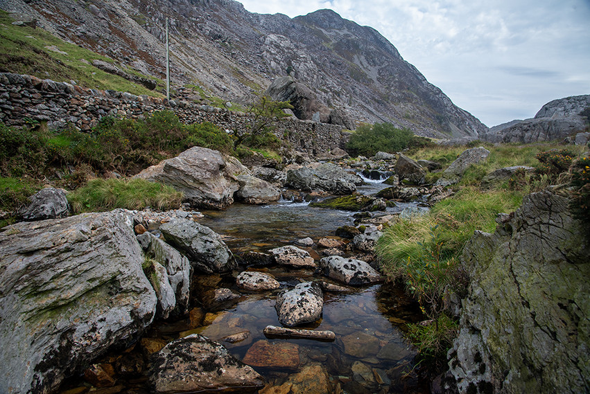 Details of the Nant Peris River 14