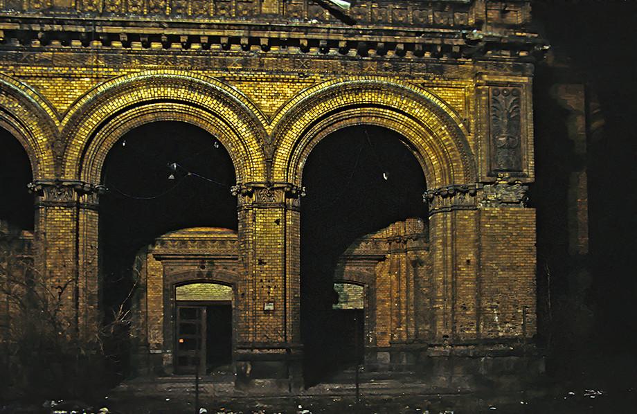 Potsdamm Station brickwork