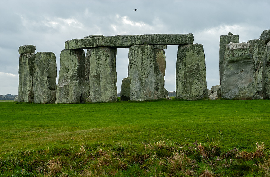 Circle of Sarsen Stones with Lintels