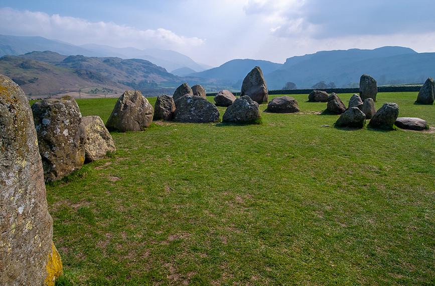 Castlerigg Stone Circle and Sanctary