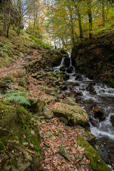 Tom Gill Waterfalls in Glen Mary 01
