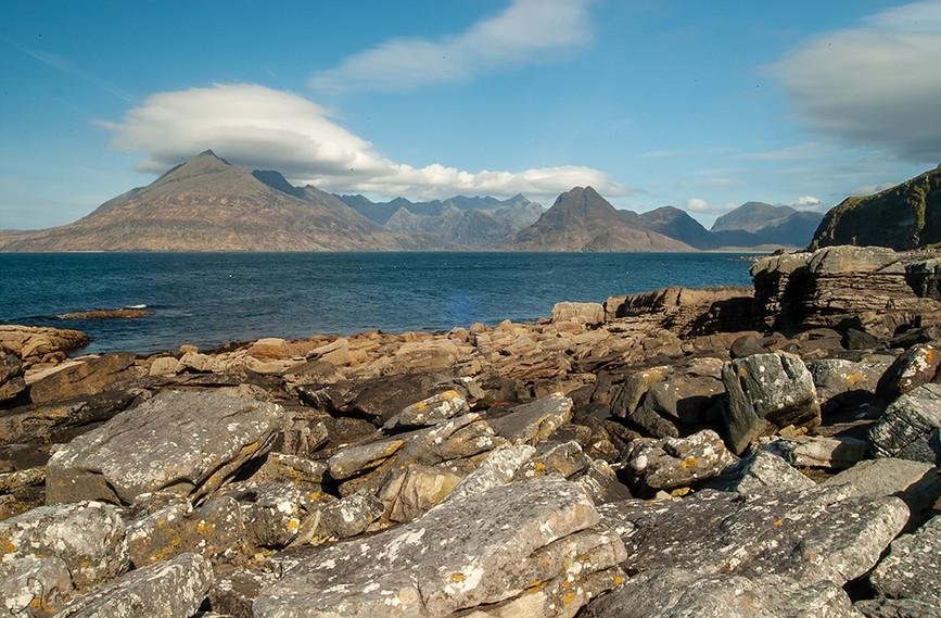 Across Loch Scavaig to the Black Cuillins 06