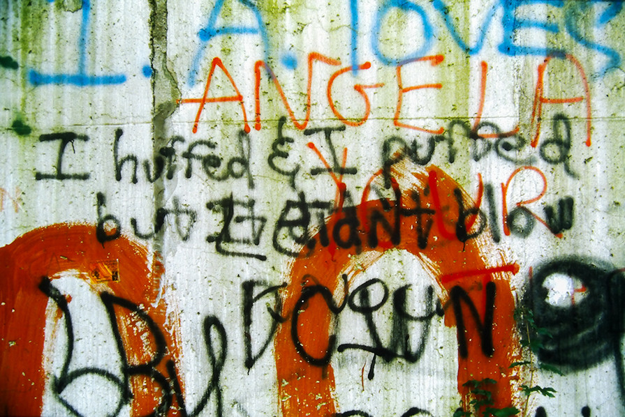 Graffiti on the Wall 29
