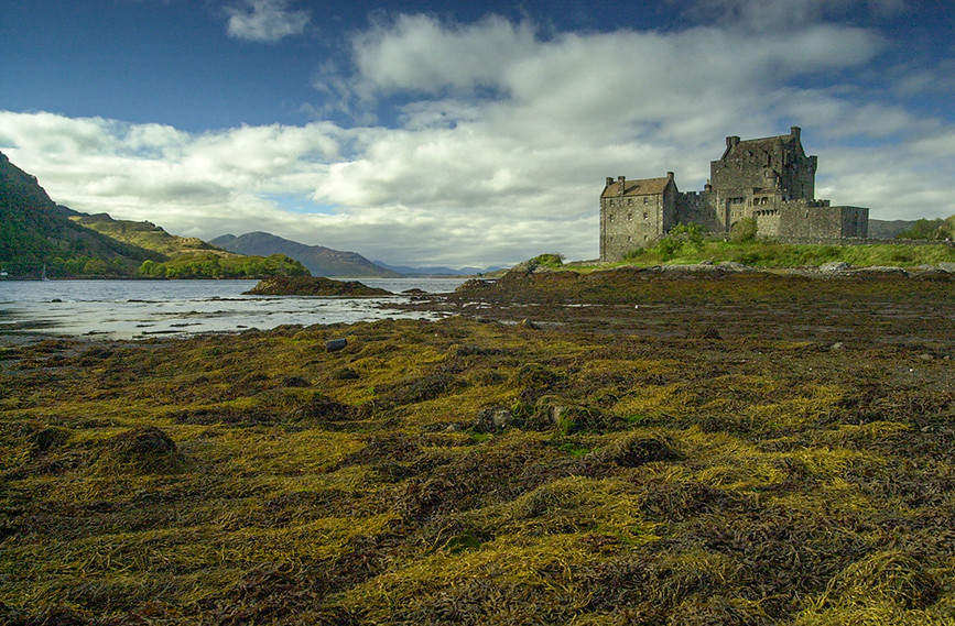 Eilean Donan Castle 0 looking down Loch Alsh