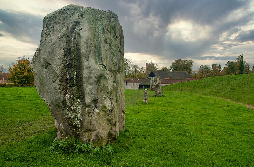 Views of Avebury & Individual Stones 06