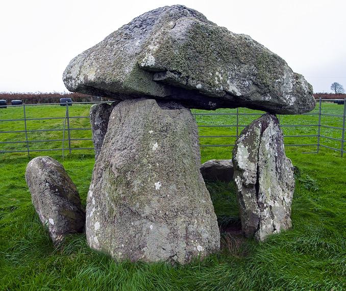 Bodowyr Burial Chamber, Anglesea, Wales.