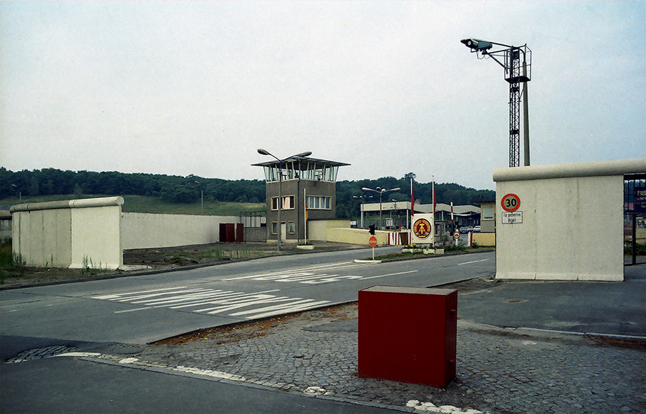 Entrance to Heerstrasse Checkpoint