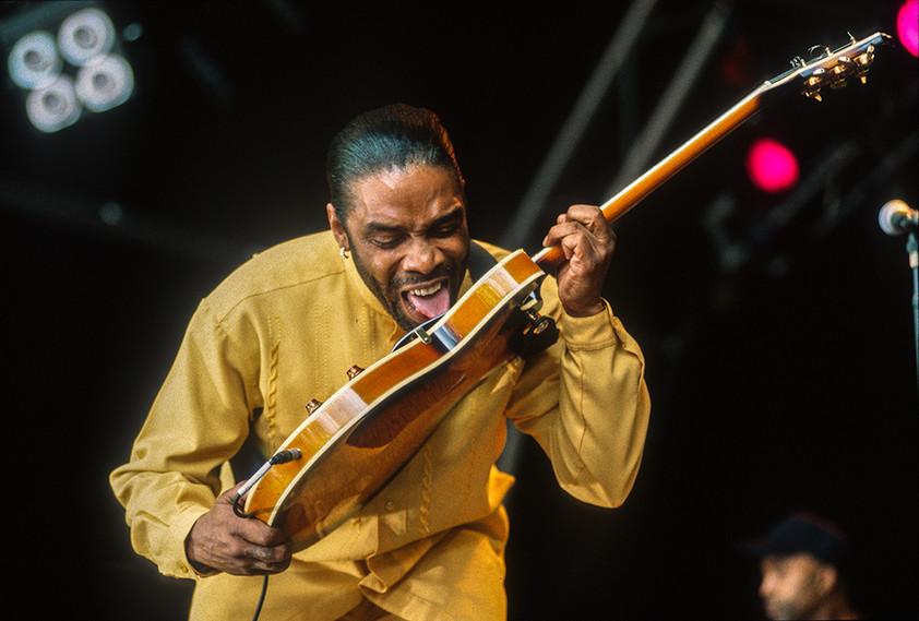 Guitarist with Koko Taylor 01