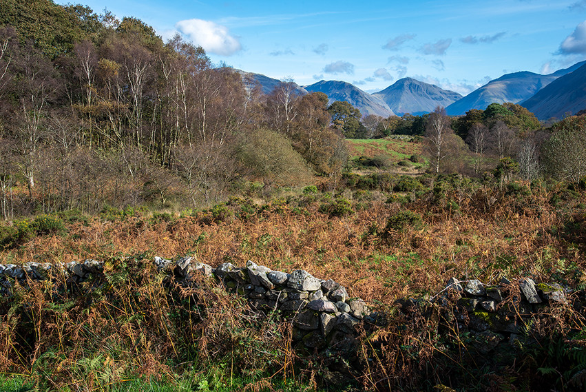Woodhow (Great Gable & Scafell Pike in the background) 01