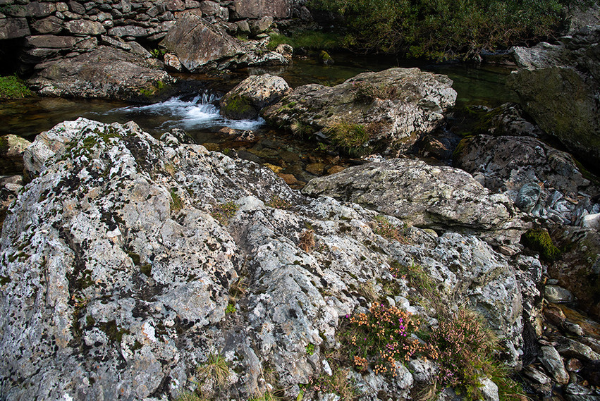 Details of the Nant Peris River 10