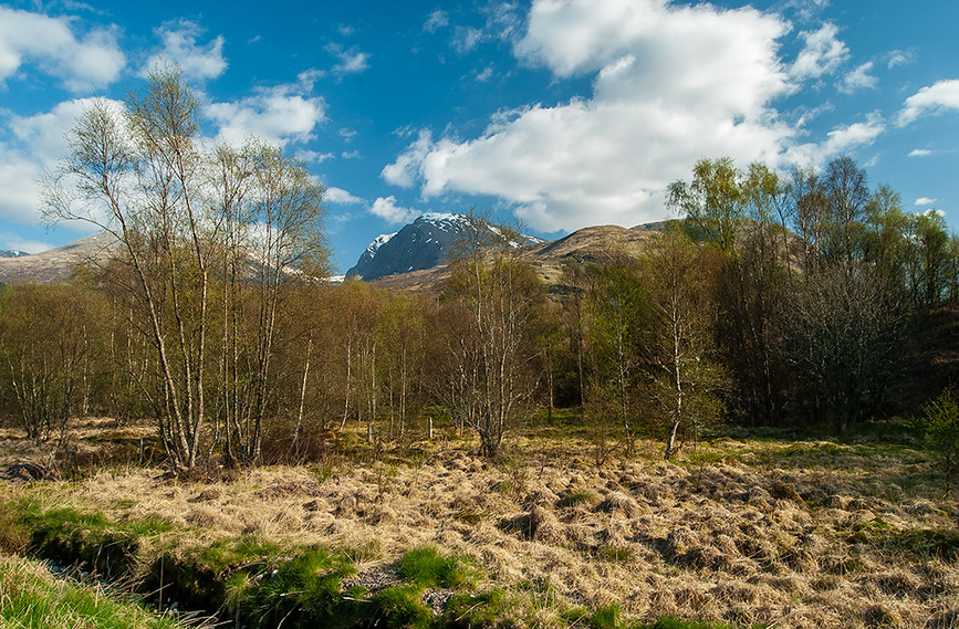 Ben Nevis from the A82 04