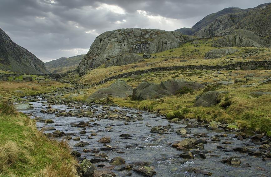 Nant Peris River looking North 04