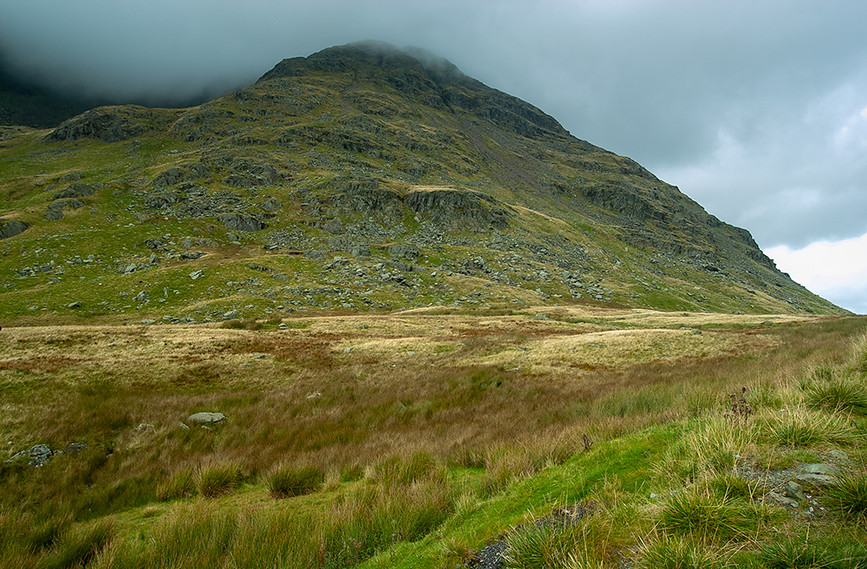 Red Screes at top top of Kirkstone Pass