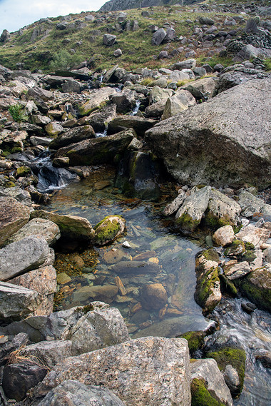 Details of the Nant Peris River 21