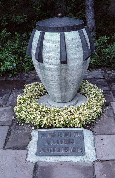 The Urn ('the urn contains soil from german concentration camps'); Plötzensee Memorial