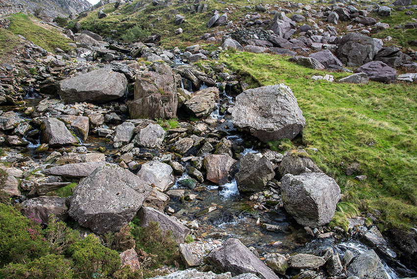 Details of the Nant Peris River 23