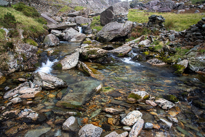 Details of the Nant Peris River 24