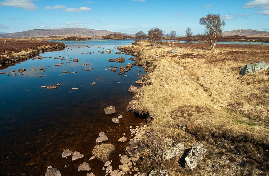 River leading to Loch Ba, Rannoch Moor