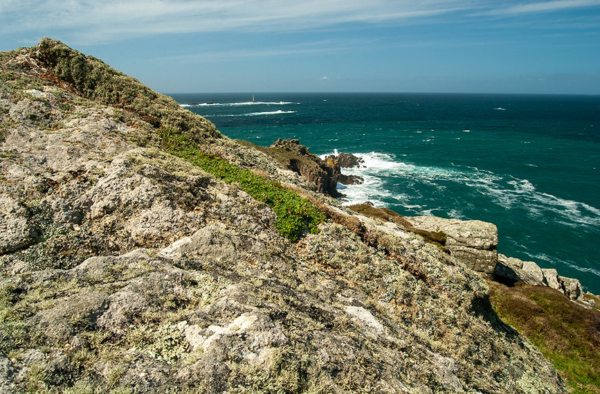 View along St Johnson's Head towards the Lighthouse