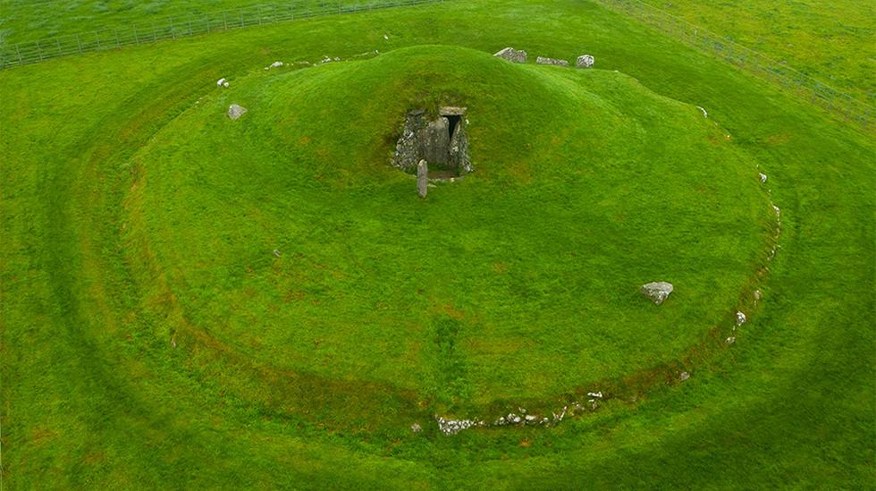 Bryn Celli Ddu Neolithic Burial Chamber 02