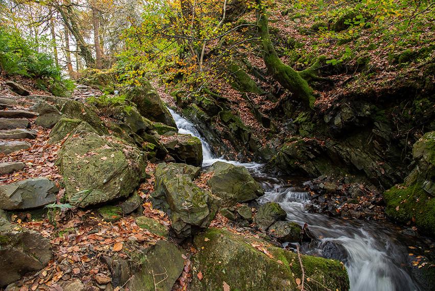 Tom Gill Waterfalls in Glen Mary 06