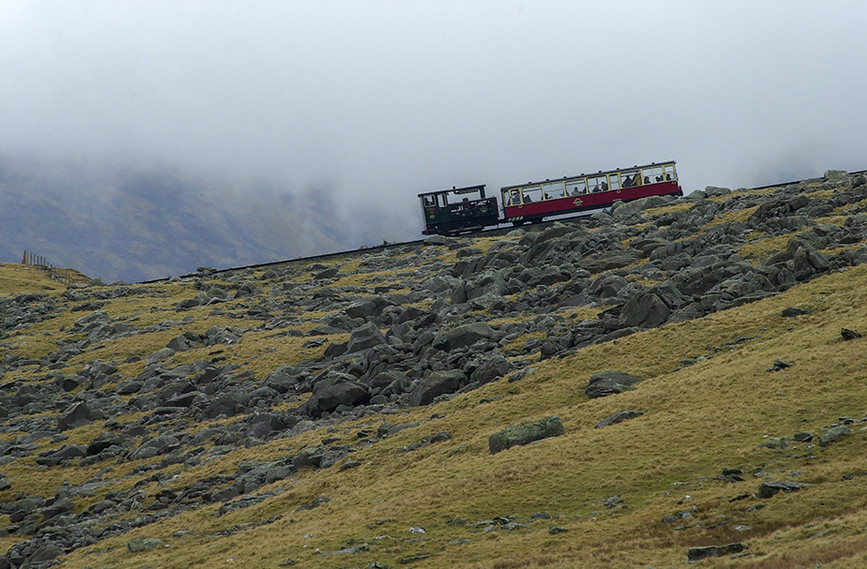 Climbing Snowdon 02