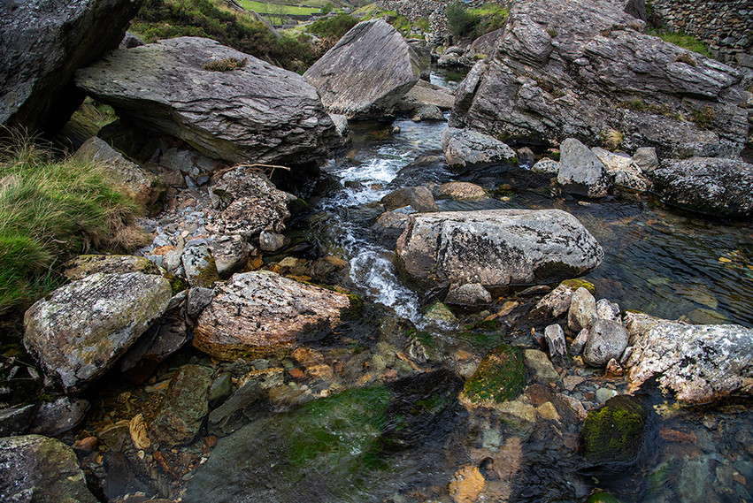 Details of the Nant Peris River 17