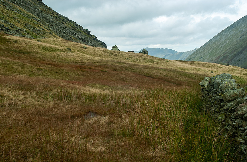 View at the top of Kirkstone Pass