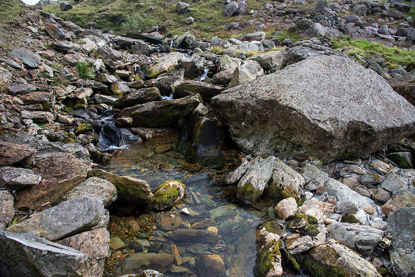 Details of the Nant Peris River 22
