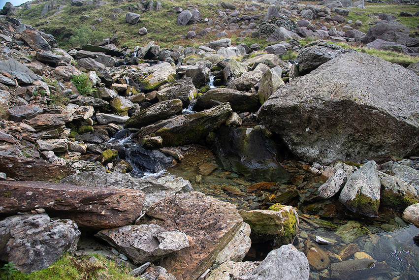 Details of the Nant Peris River 20