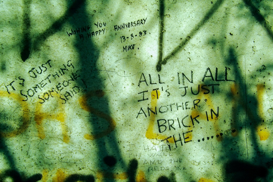 Graffiti on the Wall 18