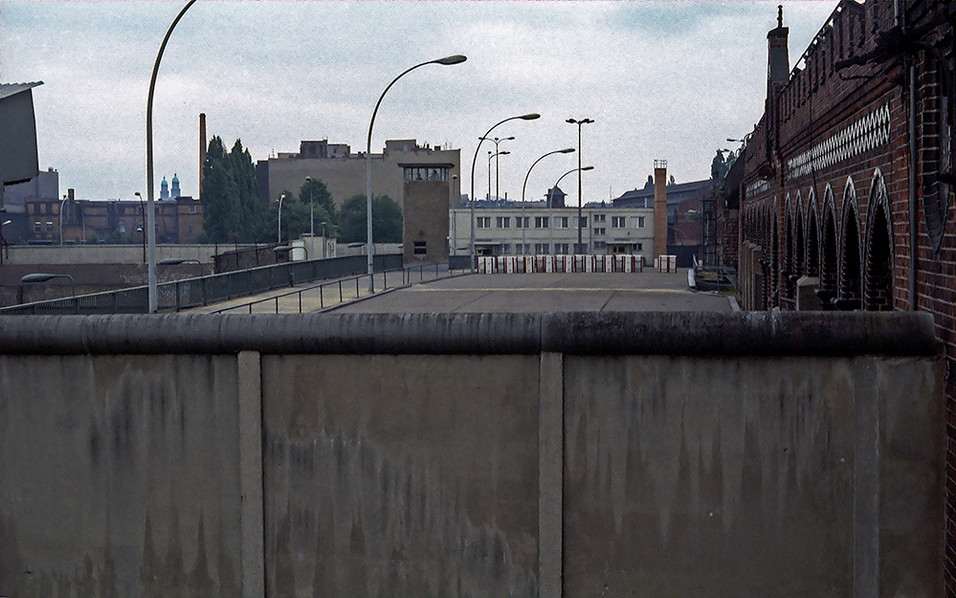 Looking across the bridge that no-one crosses