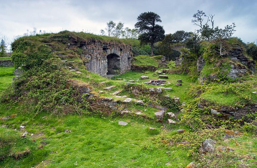 Interior2, Dunboy Castle, Beara Peninsul