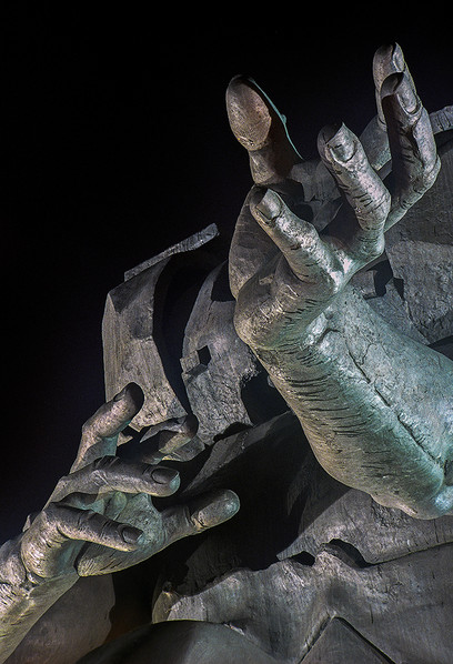 Hands - Detail of the Statue
