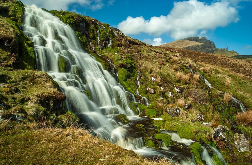 Bride's Veil Falls & Old Man of Storr 03