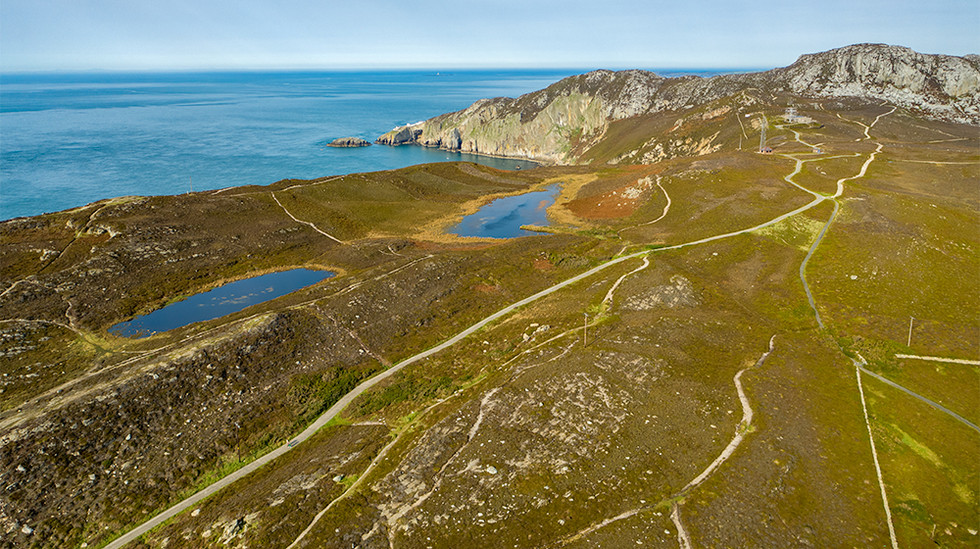 Hills Above South Stack Lighthouse, Anglesea