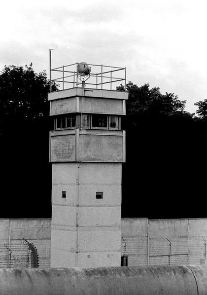 Newer style guard tower
